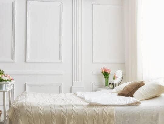 Maler Eferding Altbau Schlafzimmer