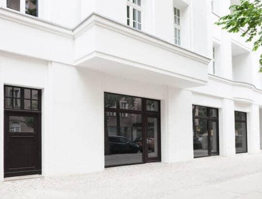 Maler Eferding Außenfassade eines Gebäudes